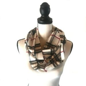 Accessories - Cream Infinity Scarf
